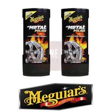 Meguires All Metal Polish 2X 236ml Bottles G15308 #404