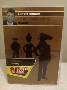 My Best Games with Black - Alexei Shirov CHESS interactive PC game