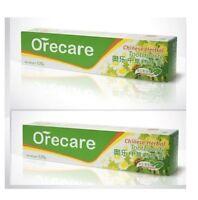 2 packs x Tiens Orecare Chinese Herbal Toothpaste, 135 g.