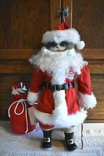 Betty Jane Carter Musical Porcelain Christmas Santa Claws Doll Bette Ball Goebel