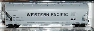 Micro Trains N Scale - Western Pacific  ACF Centerflow Hopper #12012  - 09400370