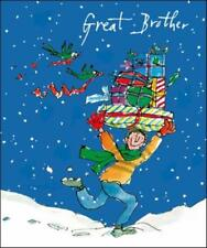 Great Brother Quentin Blake Christmas Greeting Card Popular Xmas Cards