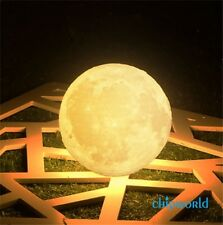 3D Magical Moon Lamp USB LED Night Light Moonlight Valentines Gift Touch Sensor