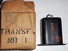 Transformateur d'alimentation secteur HT militaire chauffage 2 x 5 volts 15 A