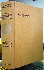 L. Geymonat, Storia del pensiero filosofico e scientifico, Vol. VI, Ed. Garzanti