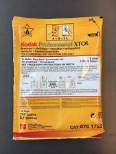 Kodak Xtol black & white film developer (powder) makes 5 Litres 1.32 Gallon NEW