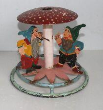 Antigua christbaumständer/weihnachtsbaumständer con Santa Claus secreto sueño bonito