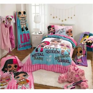 LOL Remix In Concert Twin Comforter & Sheet Set (4 Piece Bed In A Bag)