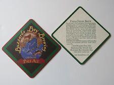 Beer Brewery Coaster ~ BUZZARDS BAY Brewing ~ Westport, MASSACHUSETTS; Ugly Bird