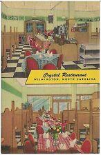 Crystal Restaurant in Wilmington NC Postcard