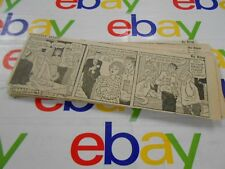 The Oregonian- April,1966- Comic Strips- Clipped- Gasoline Alley- Lot of 26