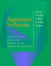 NEW Assessment in Practice: Putting Principles to Work on College Campuses