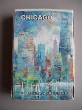 """VINTAGE DELTA AIR LINES """"CHICAGO"""" DECK OF SEALED PLAYING CARDS.(SEALED & MINT)."""