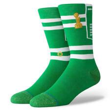 Postura NBA Para hombre Calcetines Banner Clásico De Madera Dura Boston Celtics-Verde/Blanco/Dorado
