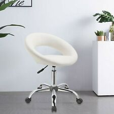 Duhome Home office Desk Chair Work Stool Crescent Adjustable Swivel Task Chair
