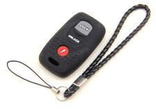 Black Silicone Case Cover For MAZDA 3 6 MPV Protege 5 Remote Smart Key 3 Buttons