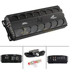2000 W Mono Amplifier Class D Amp Car Audio Bass Knob Fuse Audiopipe APMN-2000