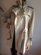 Haut femme BURBERRY Medium UK 12 14 (USA 10) court trench-coat imperméable mac
