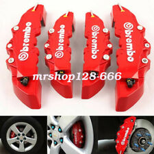 "4Pc 3D Brembo Style Disc Brake Caliper Covers 16-17"" Front&18-22"" Rear Universal"