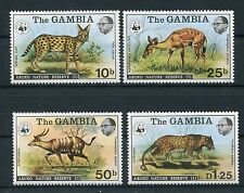 Gambia 332/35 postfrisch / WWF ...........................................1/1631