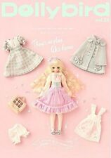 'NEW' Dollybird vol.25 w/Pattern Paper / Japan Doll & Sewing Magazine