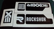 RockShox Boxxer Decal Sticker set DH MTB Freeride Downhill Moto Dirt r2c2 Custom