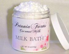 Scented Foaming Coconut Milk Bath *Lemongrass Sage Milk Bath Lg 8 oz Milk Bath
