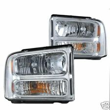 05 06 07 FORD F250 F350 SUPERDUTY HEADLIGHTS HEAD PAIR