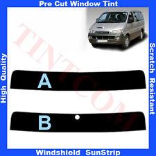 Pre Cut Window Tint Sunstrip for Hyundai H1 Starex 1998-2007 Any Shade