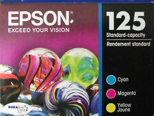 3 Pk Genuine EPSON 125 Color Inks T125520 (T1252- T1254)_T125_  NX420 125 127