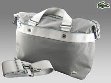 LACOSTE Business Style Laptop Document Bag City Casual 9 Grey