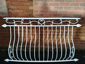 Powder coated white colour Juliet Balcony, Balustrades, Railings. Number 2