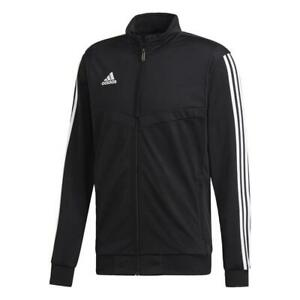 Adidas Fußball Tiro 19 Polyester Jacke Fußballjacke Herren schwarz