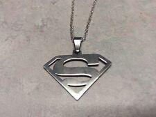"SUPERMAN Necklace chain 18"""