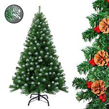 Weihnachtsbaum künstlicher Christbaum 180 cm mit 930 Zweige in grün-weiss