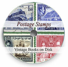 Rare World Postage Stamp Books on DVD Philately Philatelic Collection Album 286