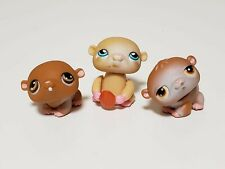 HAMSTER #35 #34 pp3 lot  - Authentic Littlest Pet Shop - Hasbro LPS
