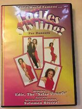 Edie the Salsa Frieak's Ladies Styling salsa instruction vol 1 DVD  - pre-owned