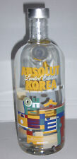 Absolut Vodka KOREA 750ml Limited Edition full and sealed