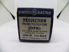 GE Projection Lamp Part # DFK T12 Bulb 1000 Watt 120 Volt Projector Slide Movie