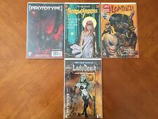 Set of 3 Comic Books that are - Suggested for Mature Readers w/ 1 Free Comic