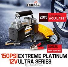 NEW 2015 150PSI Air Compressor 12v 65L Portable Car Compressor 3 Bonus Head