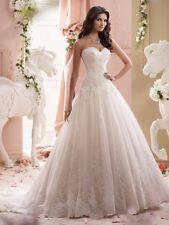 Neu Brautkleid/Hochzeitskleid/Ballkleid/Wedding dress Lager EUR Gr:34--46W