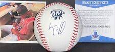 Luis Robert White Sox Signed 2019 Futures Game Baseball Beckett Rookie COA