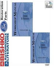 OEM Digital Repair Maintenance Shop Manual CD for Ford Truck E-Series 2006