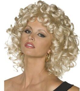 50s 1950s Sandy from Grease Last Scene Fancy Dress Wig Movie Wig by Smiffys