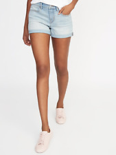 NWT: old navy Mid-Rise Cuffed Jean Shorts For Women - 3' $25 (8)