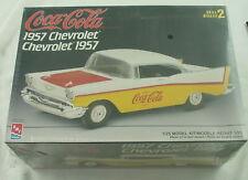AMT ERTL 1957 Coca-Cola Chevrolet Model Kit AMTH862-140DO Skill 2 1:25th Scale