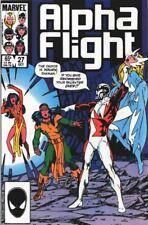 Marvel Alpha Flight 27  1985