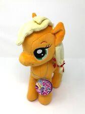 "My Little Pony APPLEJACK 10.5"" Aurora World Plush Stuffed Animal New w/Tag"